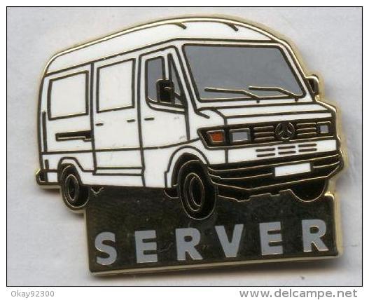 Pin´s Mercedes Server - Mercedes