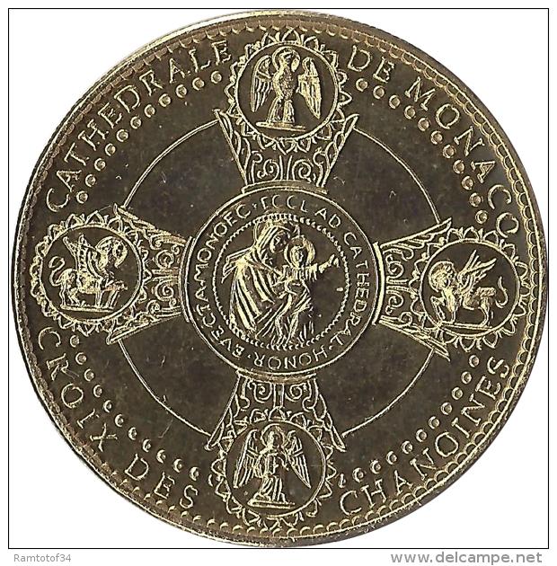 S08B129 - 2008 CATHEDRALE DE MONACO - Façade 13 Traits / ARTHUS BERTRAND - Arthus Bertrand