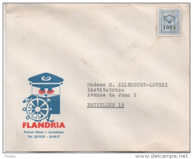 Envellope - FLANDRIA - 1964 - Lettres & Documents