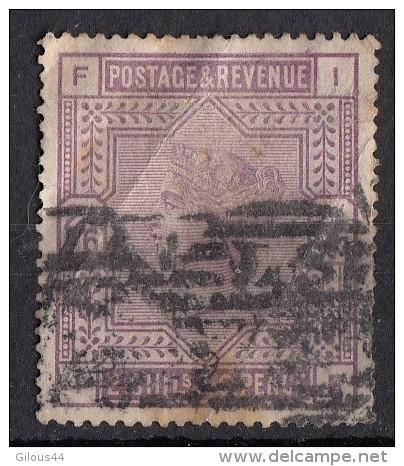Victoria Grands Cadres 2s/6p  Violet N°86 - 1840-1901 (Victoria)