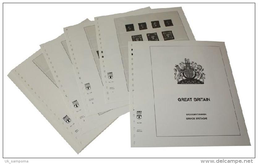 Lindner DT121 Germany Complete Offer East Germany GDR - DT-Illustrated Album Pages Year 1949-1990 - Albums & Binders