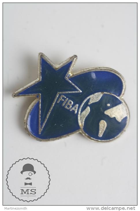 International Basketball Federation FIBA - Pin Badge #PLS - Baloncesto