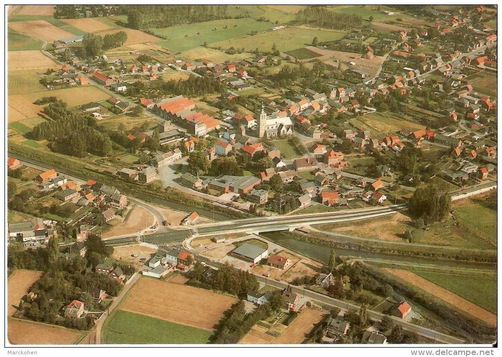 ROTSELAAR-WERCHTER (3118) : Luchtopname. Algemeene Zicht Van Het Dorp. CPSM. - Rotselaar
