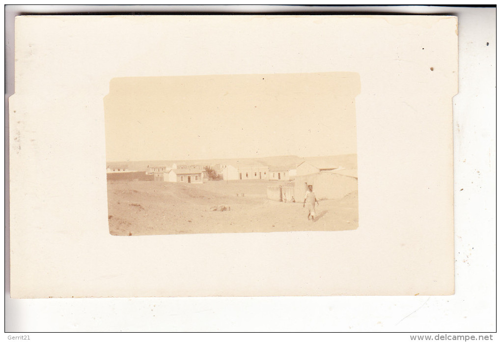 ANGOLA - MOSSAMEDES / NAMIBE, Ortsrand Mit Wüste, Photo-AK - Angola