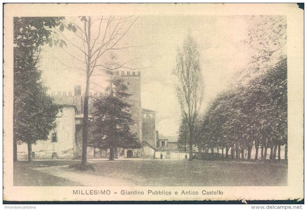 Hh906 - Millesimo - Savona - Giardino Pubblico E Antico Castello - 1916 - Savona