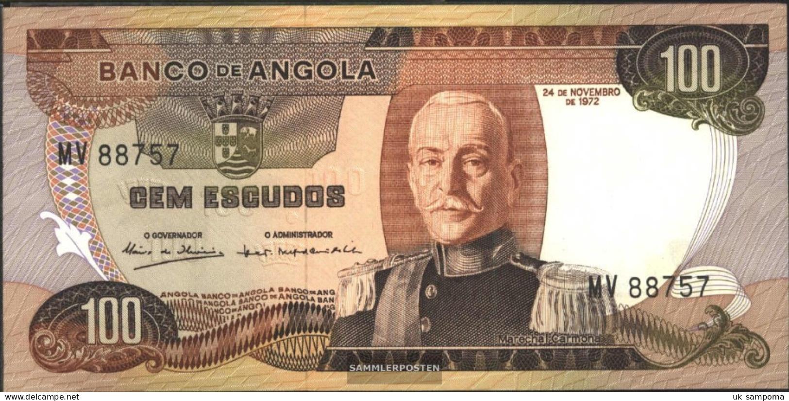 Angola Pick-number: 101 Uncirculated 1972 100 Escudos - Angola