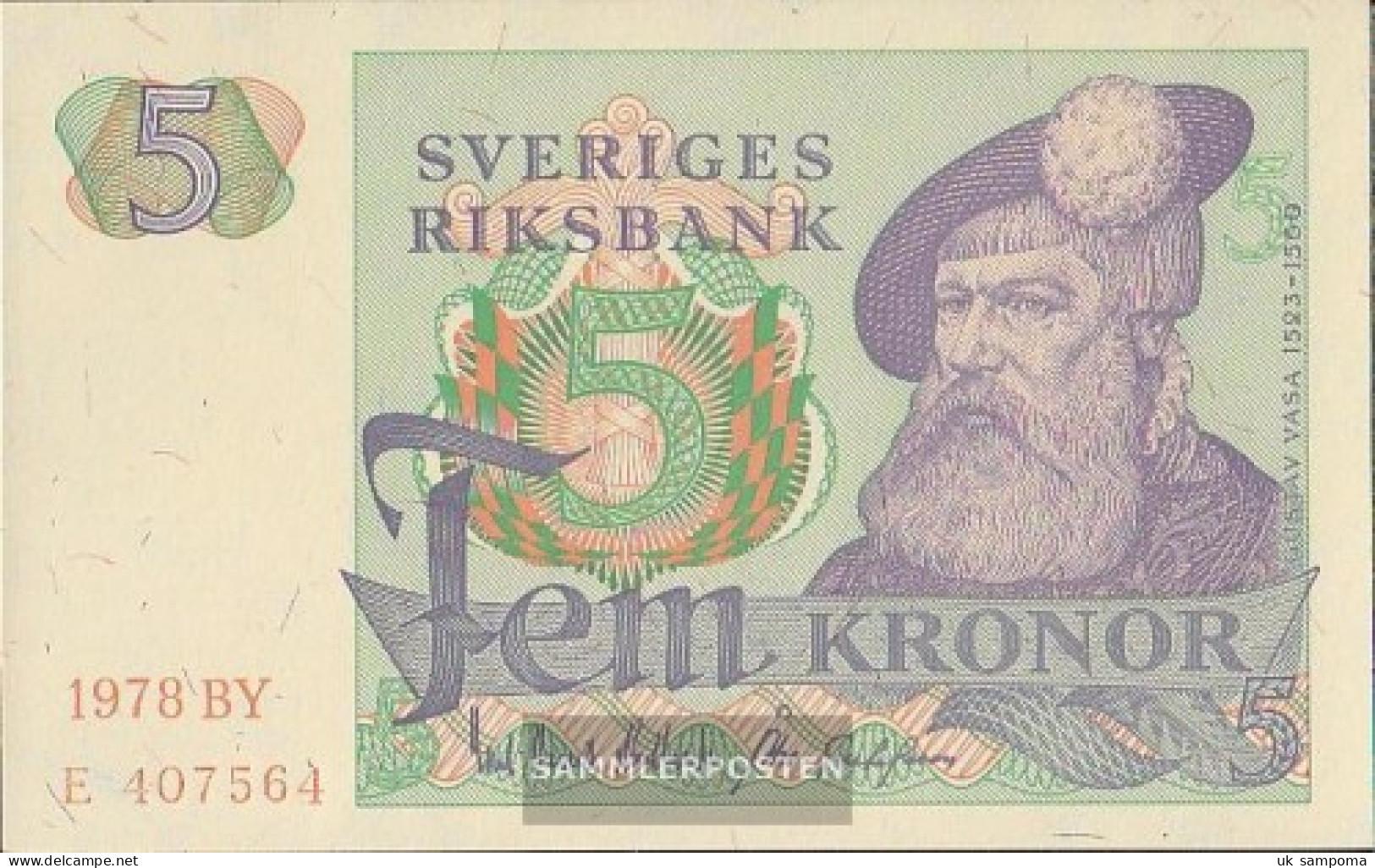 Sweden Pick-number: 51d (1978) Uncirculated 1978 5 Kronor - Sweden