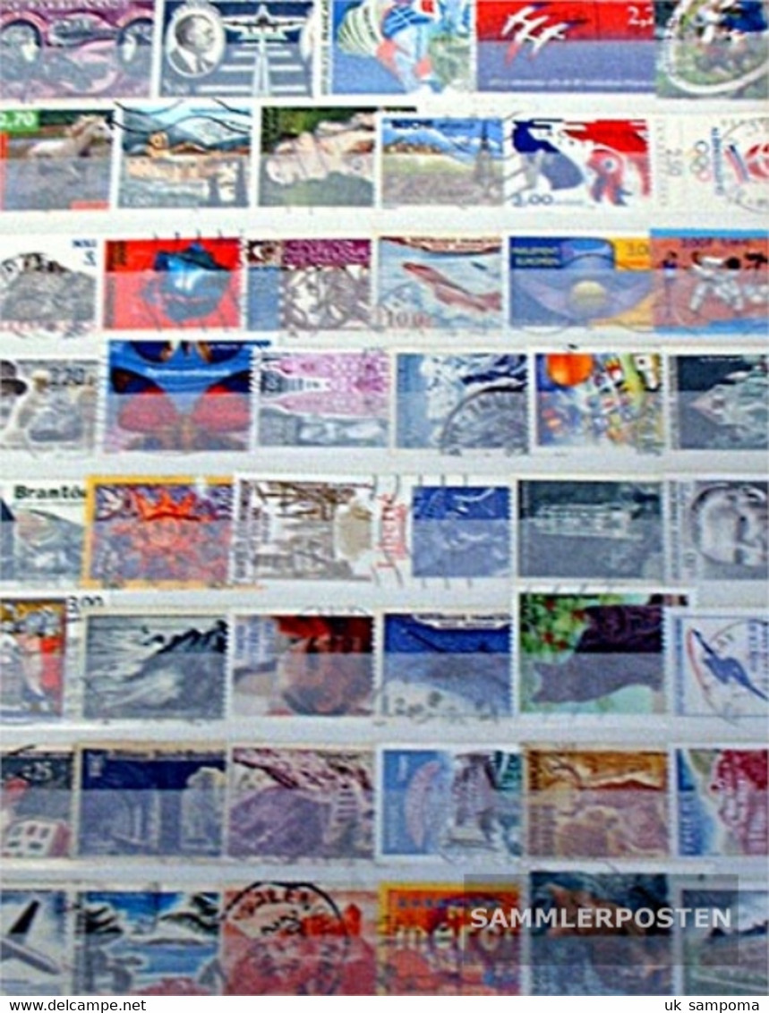 France 500 Different Stamps - Collections