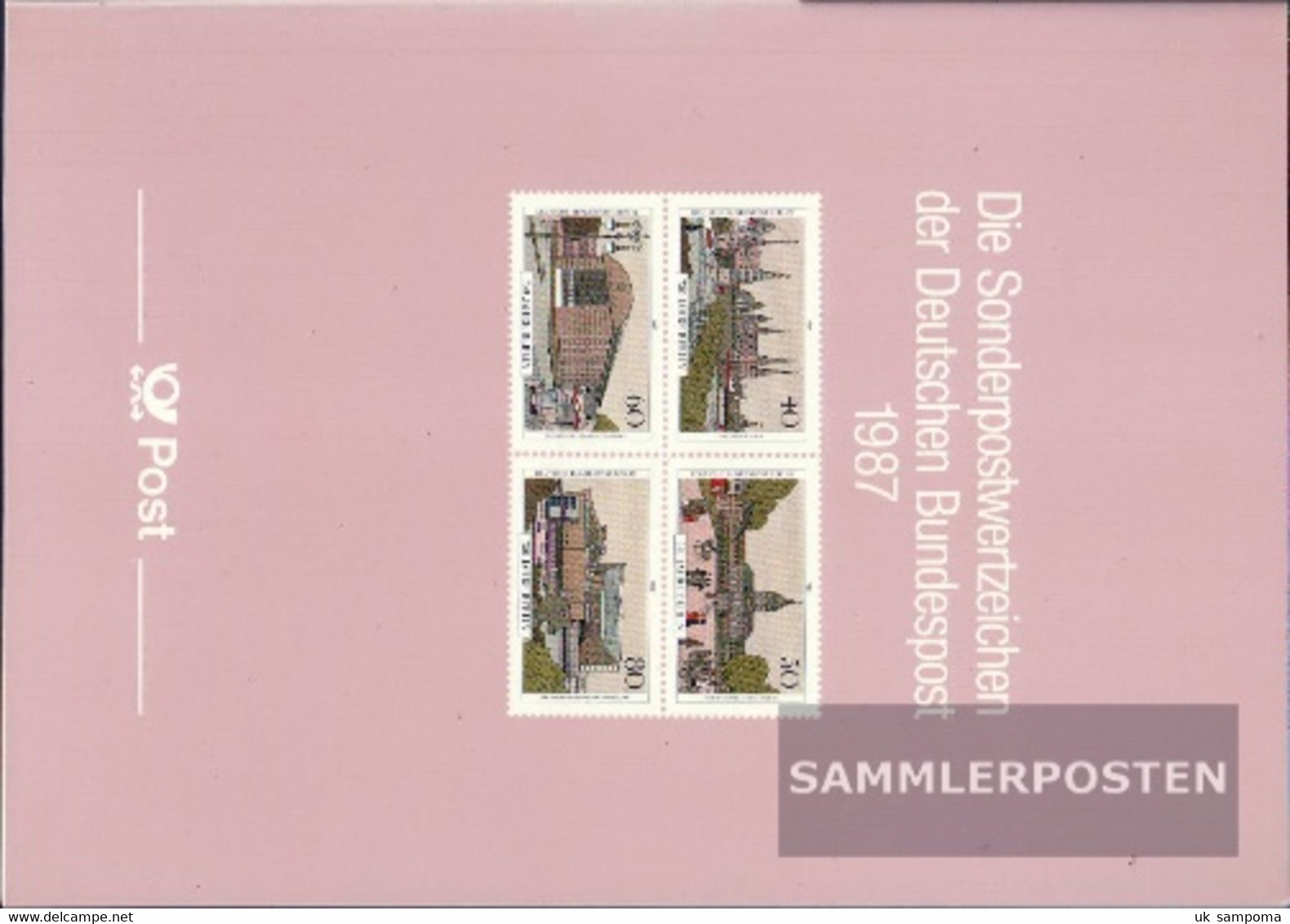 FRD (FR.Germany) 1987 Unmounted Mint / Never Hinged Official Jahrbuch The German Post With Berlin - Stamps