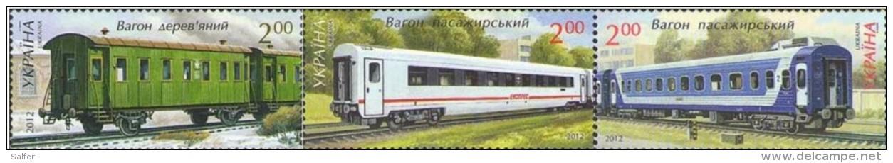 Ucraina  2012  Treni MNH - Treni