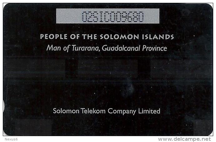 Solomon - SOL-05 Man From Turarana 10$ 02SIC (C), Used - Isole Salomon