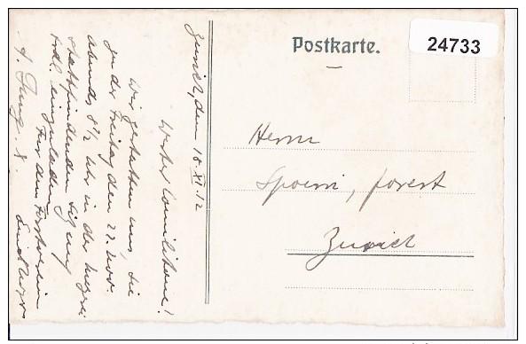 Zürch (ZH) Studenten/Etudiants, Forstverein, ETH, Eichhörnchen/ écureuil, Litho, 1915    ***24733 - ZH Zurich