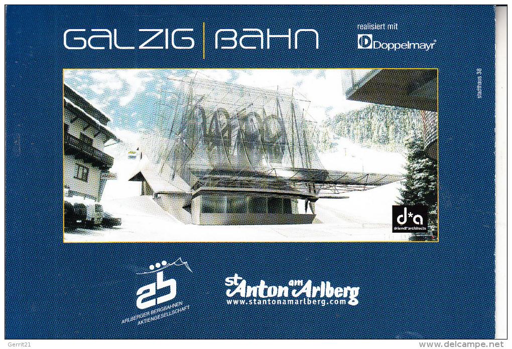 MATERIAL - 3D - Galzig-Bahn, St.Anton Am Arlberg - Postcards