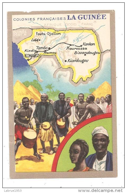 La Guinée- Colonies Françaises-(A.6623) - Guinée