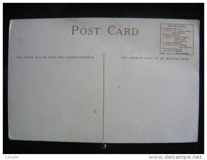 "X-n°142 / Red Star Line ( Vaderland 1900 ) Anwerpen - Boston ""U.S.A /  Circule  Non - Antwerpen"
