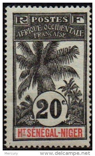 PALMIERS - HAUT-SENEGAL & NIGER - 20 C. Neuf - 1906-08 Palmiers – Faidherbe – Ballay