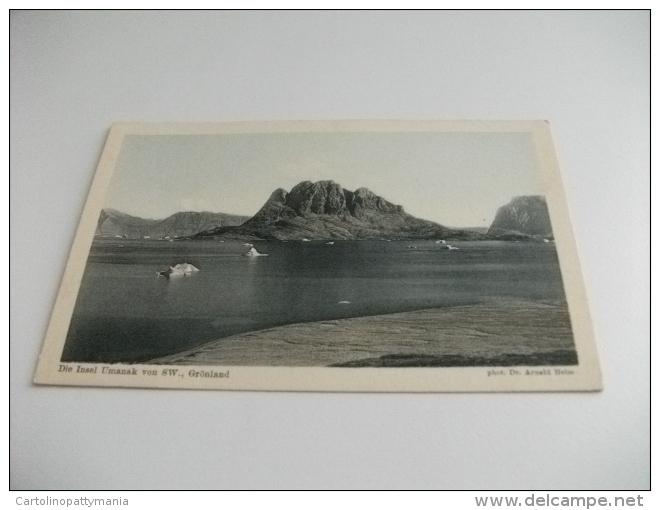 GROENLANDIA GRONLAND DIE INSEL UMANAK VON SW. GRONLAND - Groenlandia
