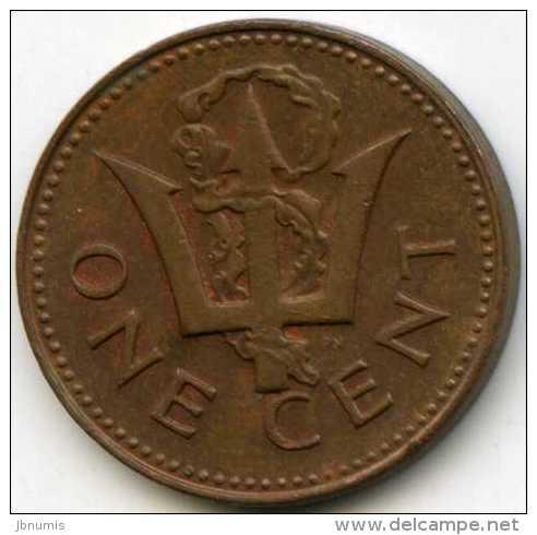 Barbades Barbados 1 Cent 1978 KM 10 - Barbades