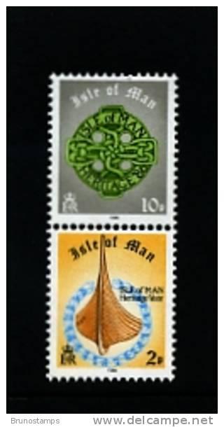 ISLE OF MAN - 1986  MANX HERITAGE YEAR  SET  MINT NH - Isola Di Man