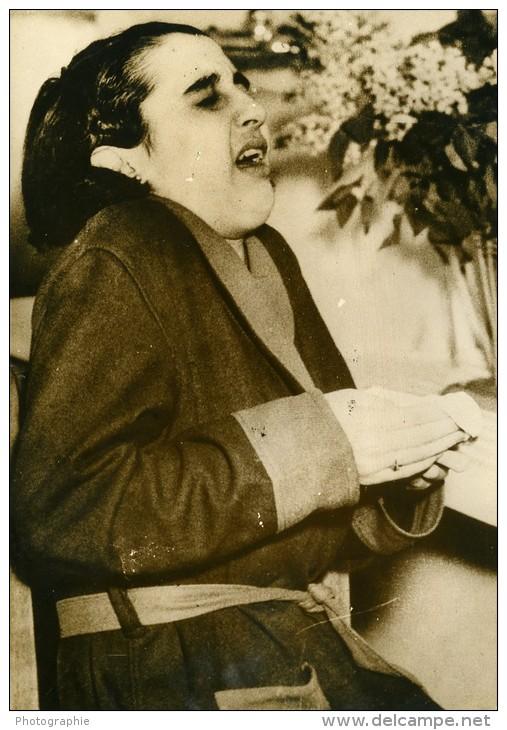 USA Philadelphie Violet Rey Crise D'eternuements Ancienne Photo De Presse 1937 - Unclassified