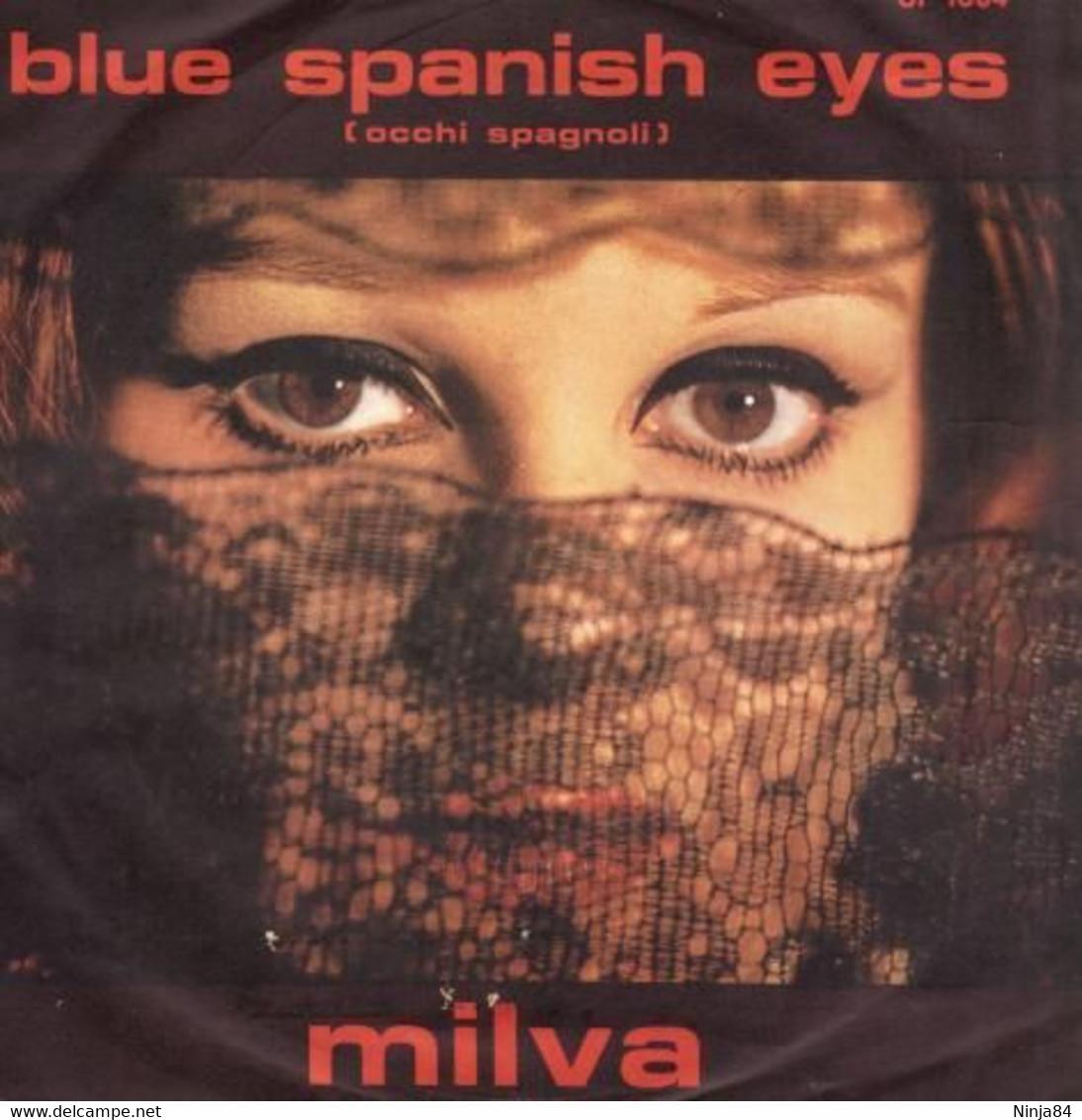 """Milva  """"  Blue Spanish Eyes  """" - Vinyl Records"""