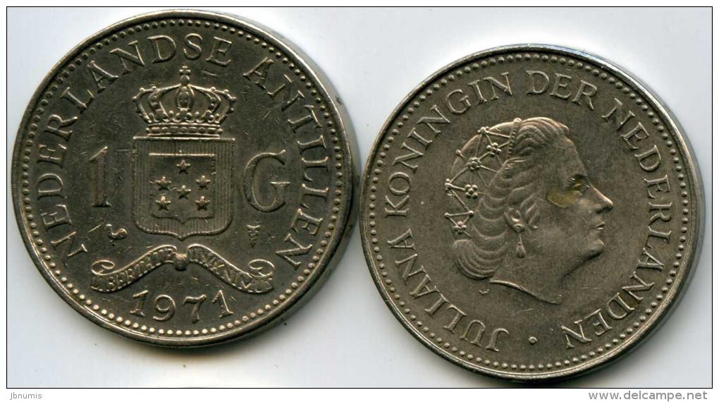 Antilles Neérlandaises Netherlands Antilles 1 Gulden 1971 KM 12 - Netherland Antilles