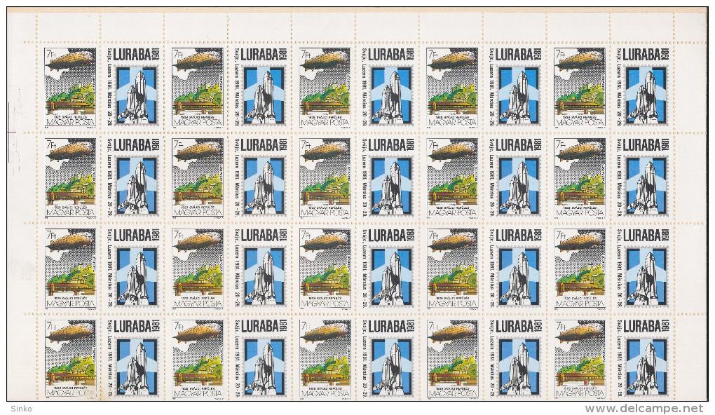 1981. Famous Flights Of Zeppelin - L - Full Sheet :) - Volledige & Onvolledige Vellen