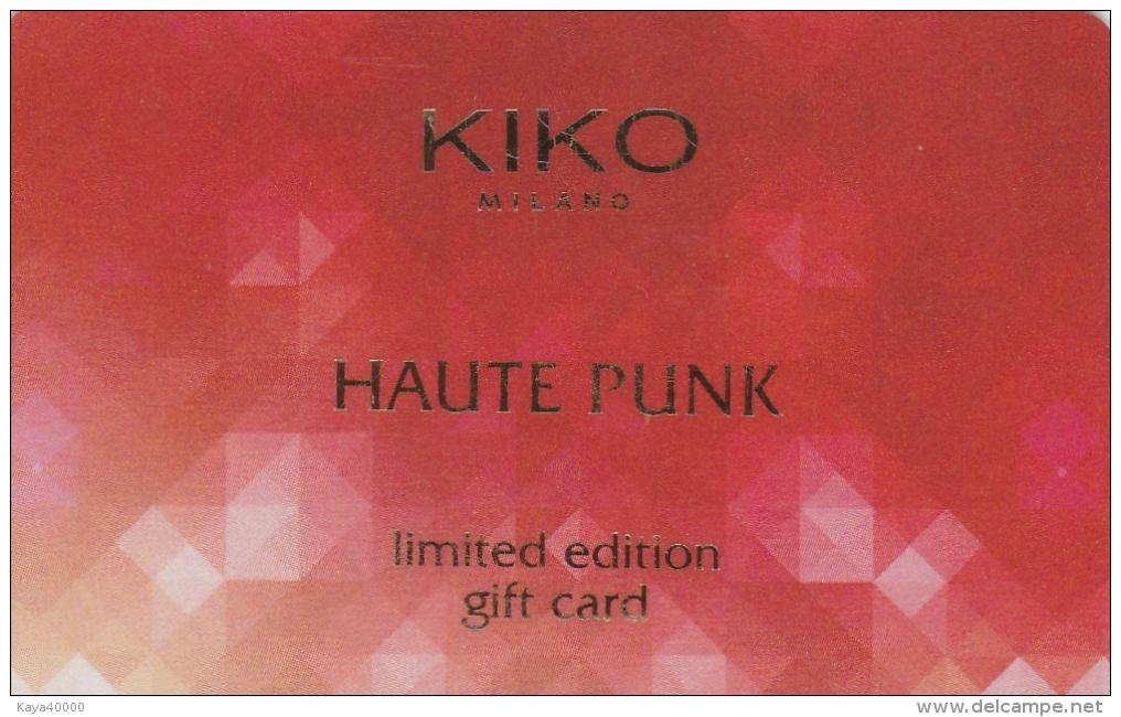 ## Carte  Cadeau  KIKO  ##    Gift Card, Giftcart, Carta Regalo, Cadeaukaart - Cartes Cadeaux
