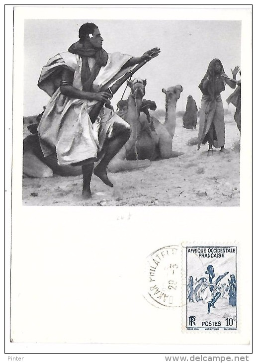 MAURITANIE - La Danse Des Fusils - Série AOF (I) - Mauritania