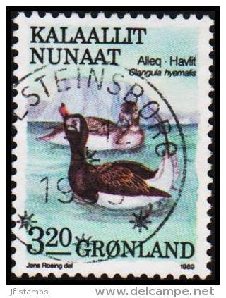 1989. Birds Series III. 3,20 Kr.  (Michel: 191) - JF175328 - Groenlandia