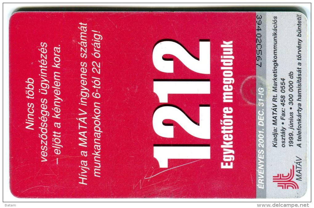 1 - Seal - Animals - Phonecard - Hungary 2001 - Tarjetas Telefónicas