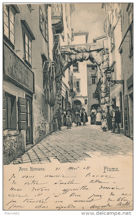 CROATIE - FIUME - Arco Romano - Croatie