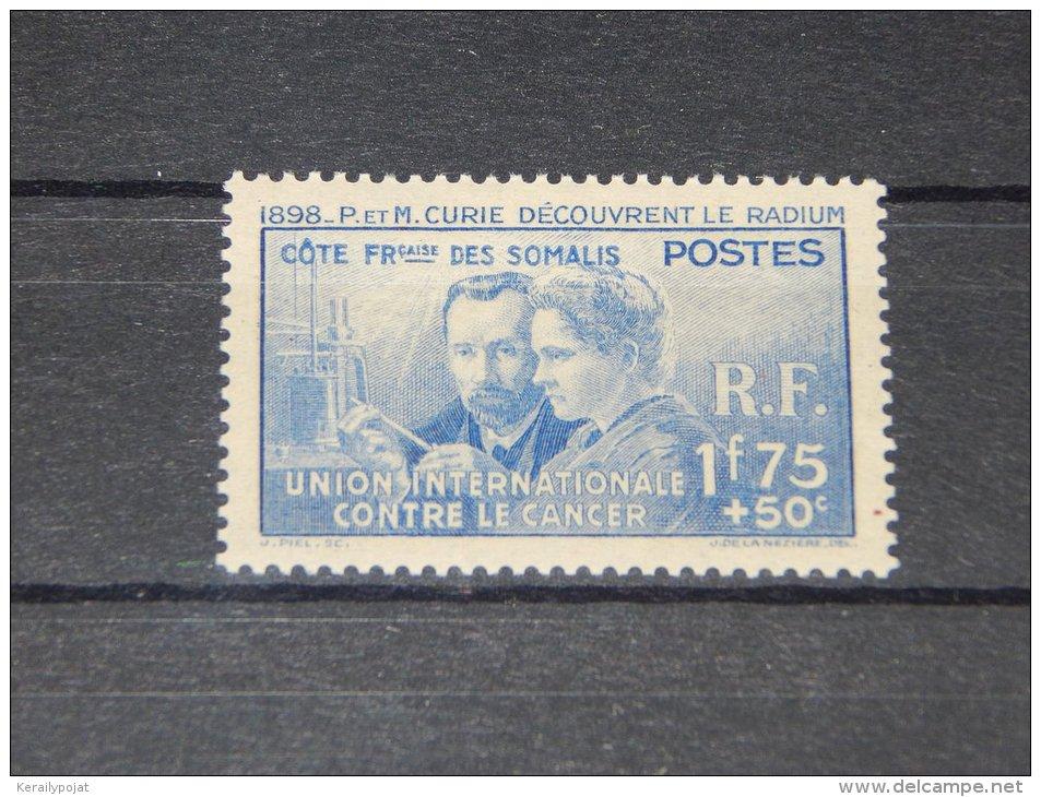 French Somali Coast - 1938 Marie Curie MNH__(TH-12412) - Französich-Somaliküste (1894-1967)