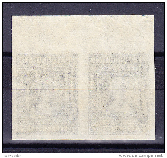 Kanada Neufundland 1938 SG.#271b */**  Ungezähntes Paar - Neufundland