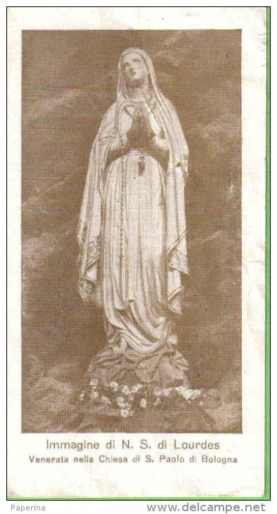 SANTINO N.S. DI LOURDES CHIESA S. PAOLO BOLOGNA - Santini