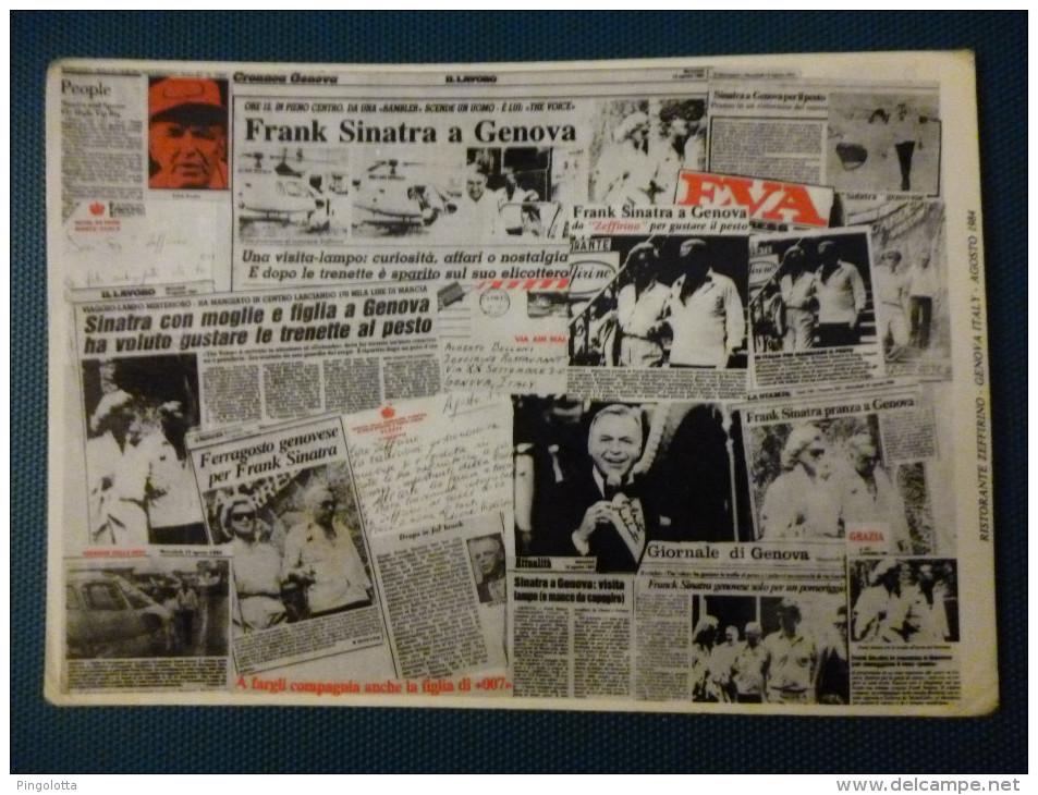 Frank Sinatra A Genova - Cantanti E Musicisti
