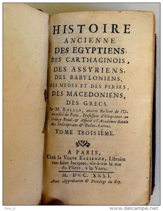 Histoire Ancienne Des Egypciens, Des Carthaginois, Des Assyriens, Des Babyloniens ...... - History