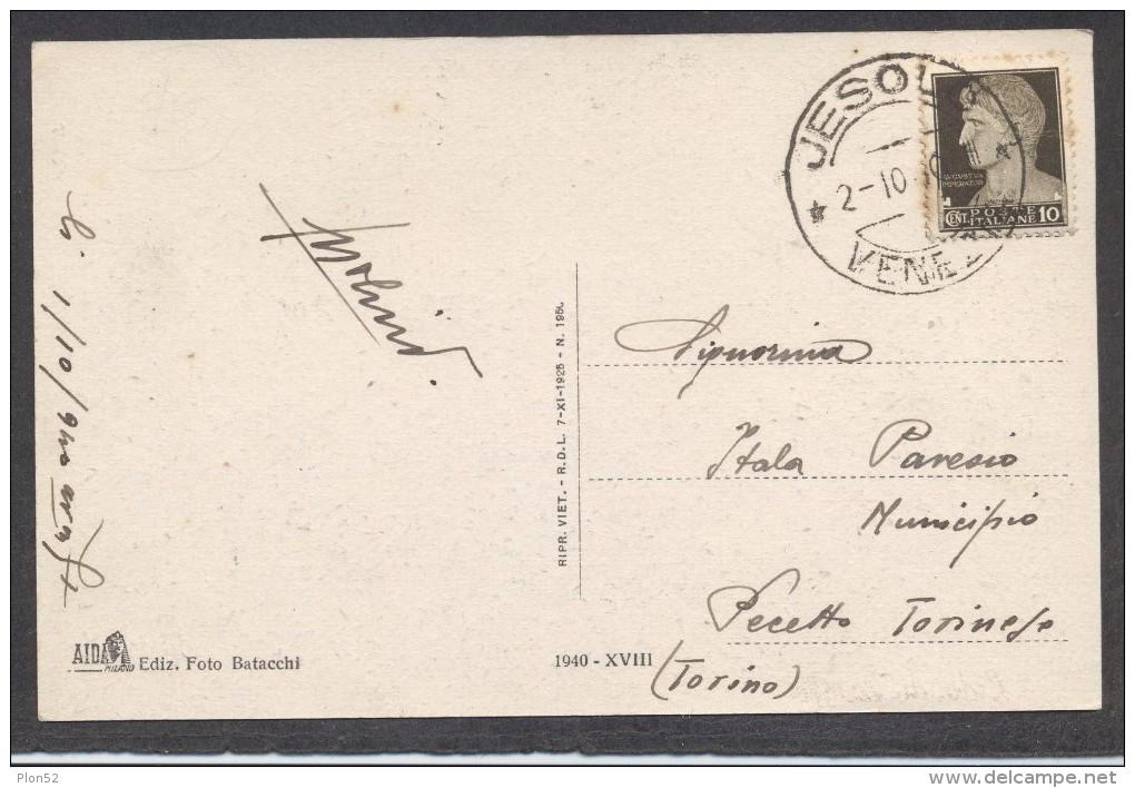 9837-LIDO DI JESOLO(VENEZIA)-ANIMATA-1940-FP - Venezia