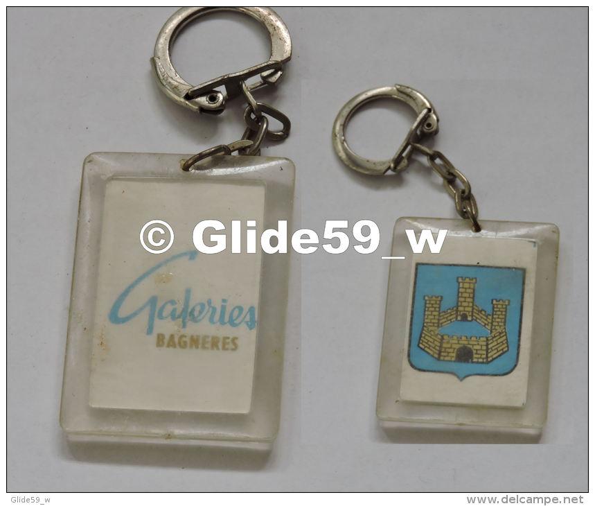 Porte-clés Plastique - Galeries BAGNERES (65) - Porte-clefs
