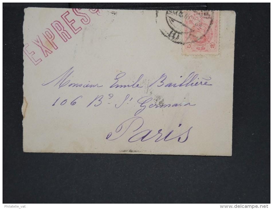 ESPAGNE - Enveloppe En Expres Pour Paris -  à Voir P7326 - Lettres & Documents