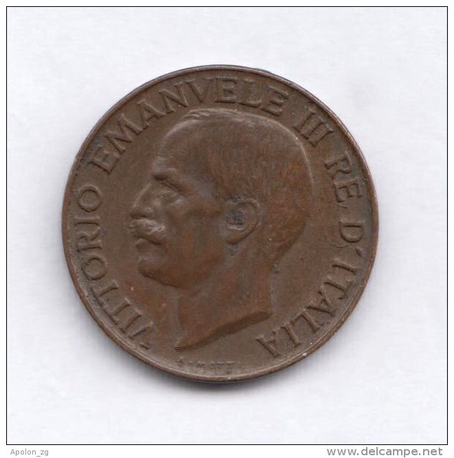 ITALY 5 Centesimi 1919 XF Emanuele III HIGH GRADE COIN - 1861-1946 : Kingdom