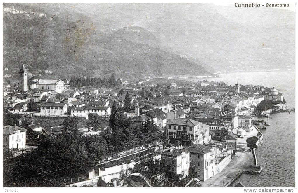 Cannobio. Panorama - Verbania