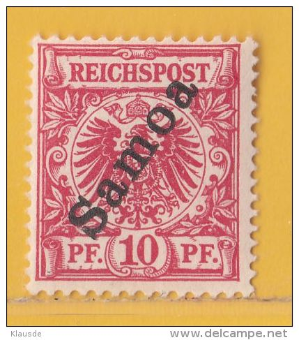 Nr. 3 Xx  Deutschland Deutsche Kolonie Samoa - Colony: Samoa