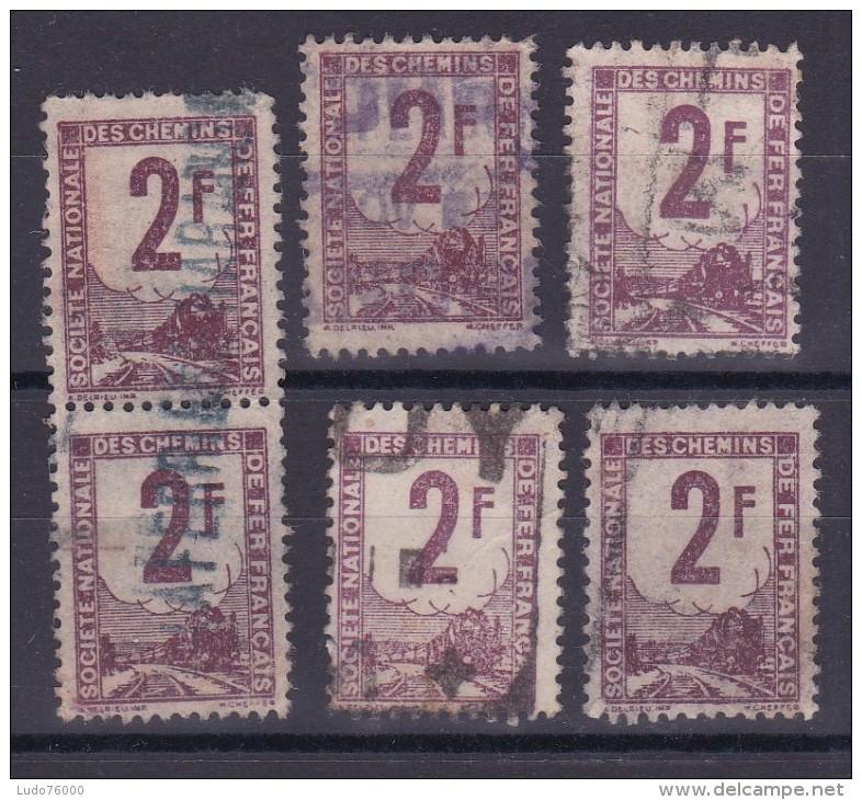 LOT COLIS POSTAUX N° 2 OBL - Collections