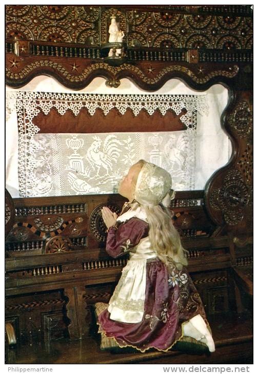 La Bretagne : Le Faouet-Langonnet (56) - Prière Du Soir - Costumes