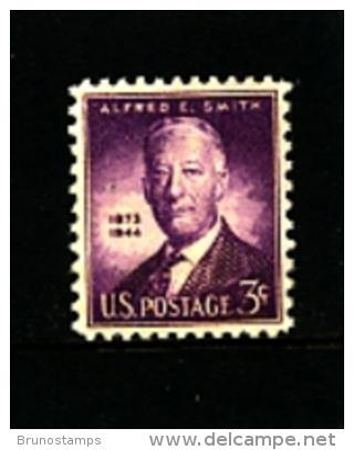 UNITED STATES/USA - 1945  ALFRED E. SMITH  MINT NH - Stati Uniti