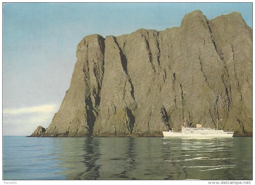Norway 1961 Nordkapp North Cape Arctic Viewcard - Noorwegen
