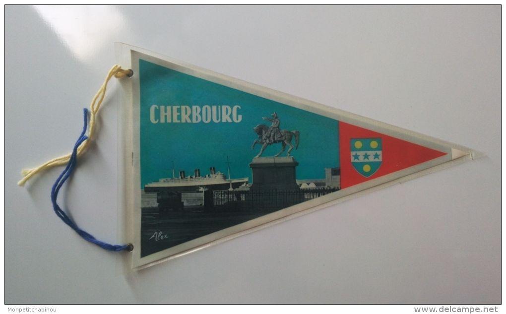 Fanion CHERBOURG (FRANCE) - Patches
