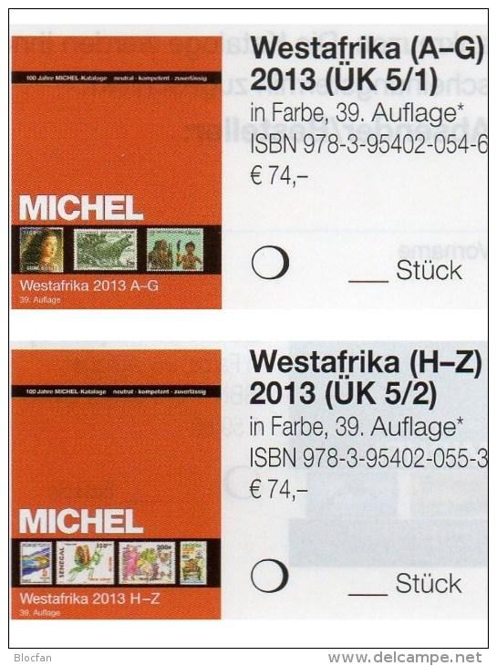 West-Afrika Band 5/1+2 MICHEL 2013 Neu 148€ Katalog Africa Benin Mali Burkina Faso Togo Gambia Niger Ghana Guinea Bissau - Monnaies & Billets