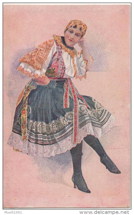 Nr. 5227,  Slowakische Tracht - Europe